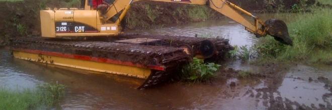 Desazolve del Canal Interior y Acceso a la Laguna de Sontecomapan, municipio de Catemaco, Veracruz