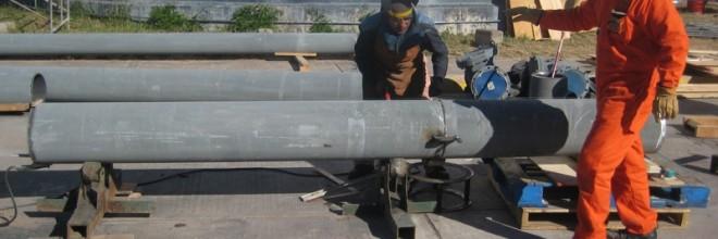 Reubicación de las Bombas de Contraincendio del TV-9, incluye: interconexión con la Linea de Tubería de Succión y de Despacho, Construcción de Cobertizo y Pruebas de Operación