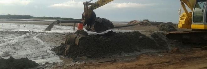 Desazolve del Canal de Acceso al Campo Pesquero Costa Azul y Desazolve del Canal de Acceso al Campo Pesquero Playa Colorada, Municipio de Angostura, Operado por CONAPESCA