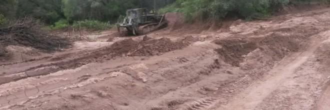 Conservación mediante el desmonte, reposición de Losas de Concreto, Terracerías y Puente Vado en Camino de Operación del Canal de Conducción Tramo Muerto del Distrito de Riego No. 076 Valle del Carrizo, Operado con CONAGUA